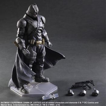 Huong Movie 25CM Dawn of Justice Batman Superman Woder woman PVC Figure Model Toys Collectible