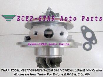 Turbo Cartridge CHRA TD04L 49377-07440 49377-07401 49377-07406 076145701F 076145701E For VW Crafter 2006- BJM BJL R5 LT3 2.5L