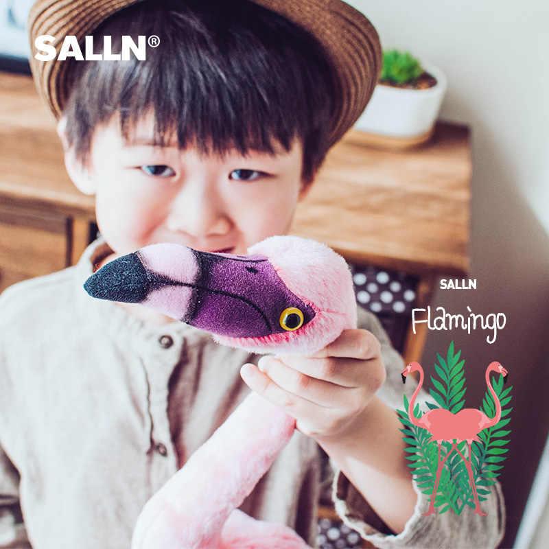 44CM32CM لطيف فلامنغو ألعاب من نسيج مخملي سوبر لينة محاكاة الحيوان الطفل دمية مرافقة النوم لعبة هدايا عيد الميلاد للأطفال الأطفال في