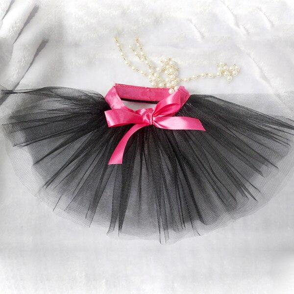 KKi Comfortable life Store New Dog Tutu Skirt Pet Cat Bowknot Lace Skirt Princess Skirt Puppy Skirt Clothes Large
