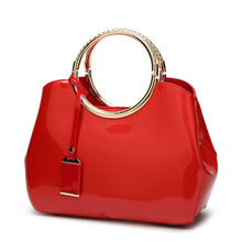 Popular Red Patent Leather Handbag-Buy Cheap Red Patent Leather ...