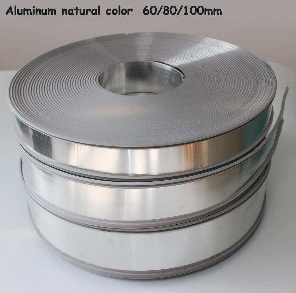 Aluminum Plastic Led Sign Letters Roll Channel Letter Coil Trim Cap Advertising 3D Luminous Letters Making