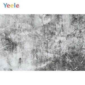 Yeele гранж белый серый цемент стена старый стиль ПОРТРЕТНАЯ ФОТОГРАФИЯ фон Индивидуальные фотографические фоны для фотостудии