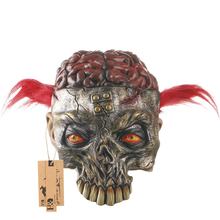H&D Scary Latex Horror Clown Mask Halloween Adult Costume Party Costumes Cosplay Mask  Accessory