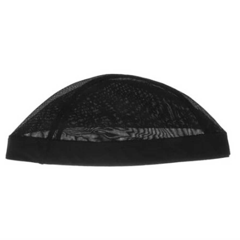 Jual Hot Hitam Wig Topi untuk Membuat Wig Spandex Net Elastis Topi Kubah Glueless Wig Topi Bernapas Mesh Cap Tenun nilon Elastis