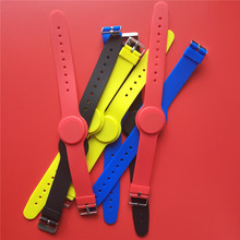 5Pcs/Lot 13.56Mhz FM11RF08 TAG S50 1K NFC Bracelet Wristband RFID IC Wrist Band Adjustable RFID Bracelet цена и фото