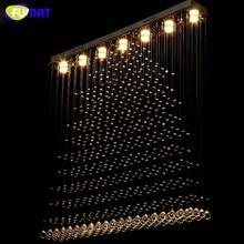LED K9 Crystal Chandelier Crystal Pyramid Suspension Light Living Room Hotel Project Light Lustre Rectangle Chandelier Villa