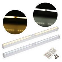 PIR hareket sensörlü ışık 20LED gece lambası hareket sensörü ile dolap ışığı otomatik/On/Off pil gücü dolap dolap mutfak