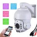 507-20XC HD1080P Zoom áudio Mini Ao Ar Livre IR-CUT 2MP P2P Rede IP PTZ Speed Dome Câmera de Segurança P2P Onvif Alumínio Houseing