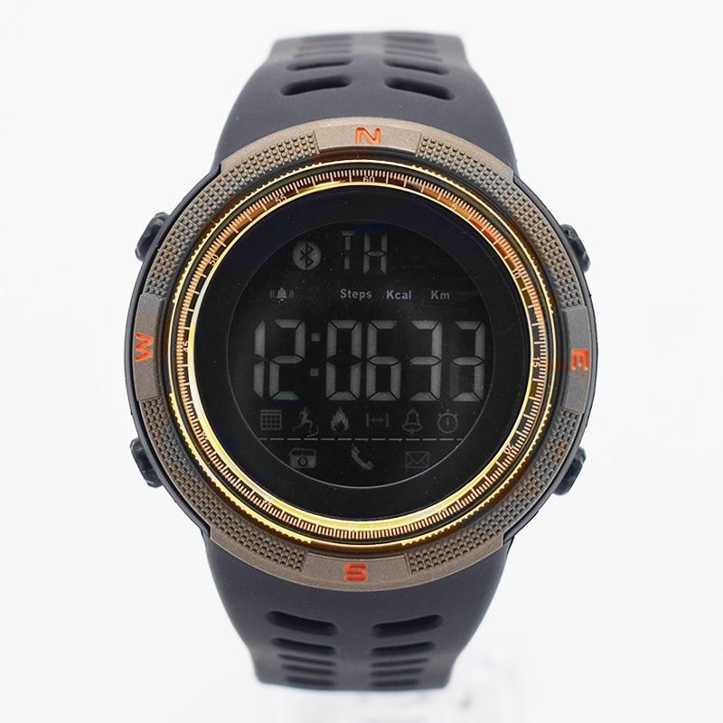 yellow waterproof wrist digital automatic watches for men digitais watch running mens man digitales clock casual ots saat simple