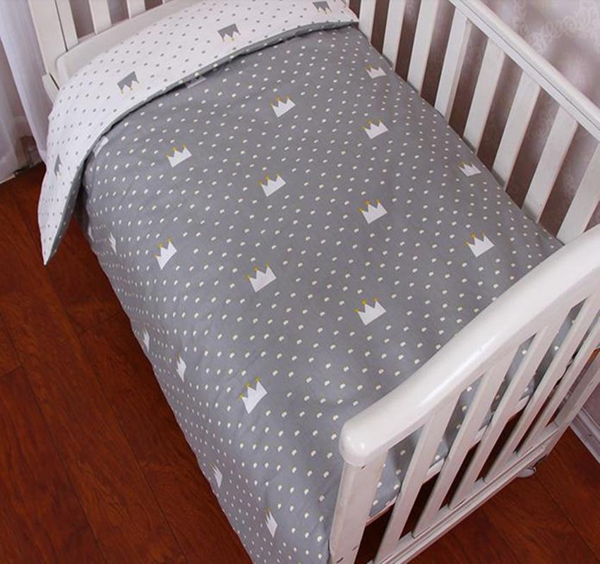 MüHsam Baby Bettwäsche Baby Bettwäsche Baby Bettwäsche Baumwolle Cartoon Druck Baby Bettwäsche Kit Bettbezug Bettbezug Ohne Filler Neugeborenen Bettwäsche Hochglanzpoliert