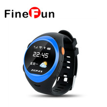 FineFun 2017 S888 Waterproof Bluetooth Smart Watch Children Elder SOS GPS GSM Tracking Smartwatch Anti lost
