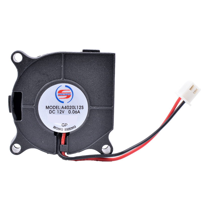 Купить с кэшбэком COOLING REVOLUTION A4020L12S DC 12V 0.06A 2-Pin Brushless Cooling Cooler Centrifugal Blower Fan 4020