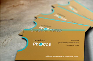 Image 4 - custom shape business Card printing Personalized die cut visiting cards round corners and full color