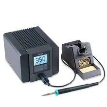 Оригинальная паяльная станция Quick TS1200A, бессвинцовая, интеллектуальная, сенсорная, 120 Вт 110 В 220 В SMD, сварочный аппарат