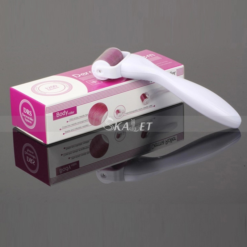 Professional DRS1200 Needles Microneedle Derma Skin Rollers Dermaroller For Skin Care And Body Treatment Beauty Salon