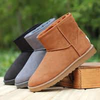 Nouveau mini Style australien femmes unisexe bottes de neige imperméable hiver cuir bottes marque IVG taille EU 35-45 livraison gratuite