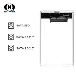Image 2 - SATA to USB Mobile Hard Disk Drive Box USB 3.0 2.5 Hard Disk SSD Mechanical Disk Hard Box With USB Cable
