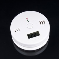 High Sensitive Digital LCD Backlight Carbon Monoxide Detector Tester CO Gas Sensor Alarm For Home Security