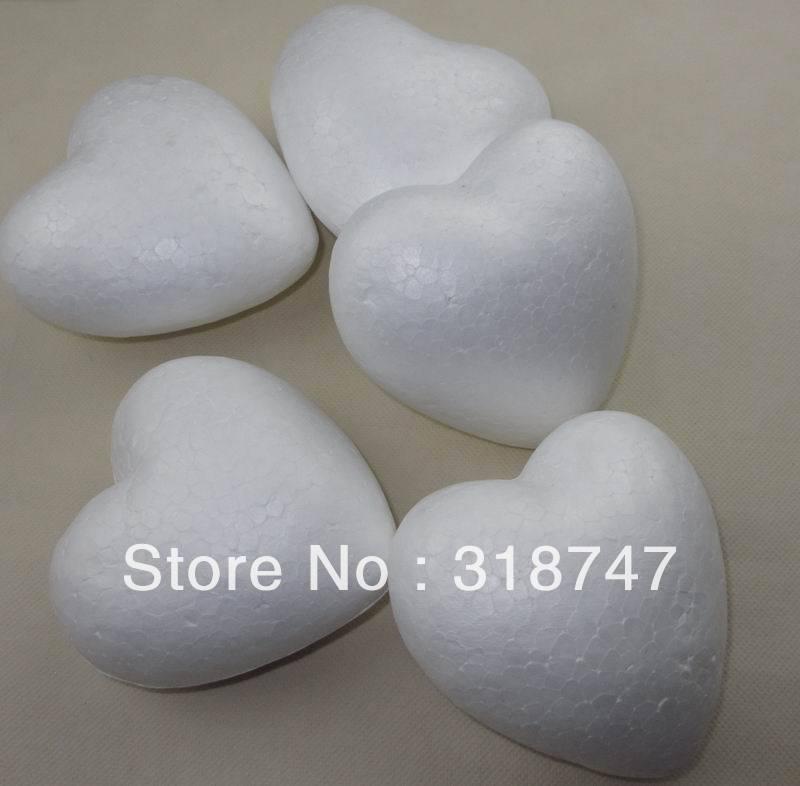 frete grátis 6 cm naturais coração de isopor branco lotação de acessórios  para flores de espuma de artesanato e artesanato diy (50 pçs lote) 041005  (7) 6 cm a18f2f6c82d8e