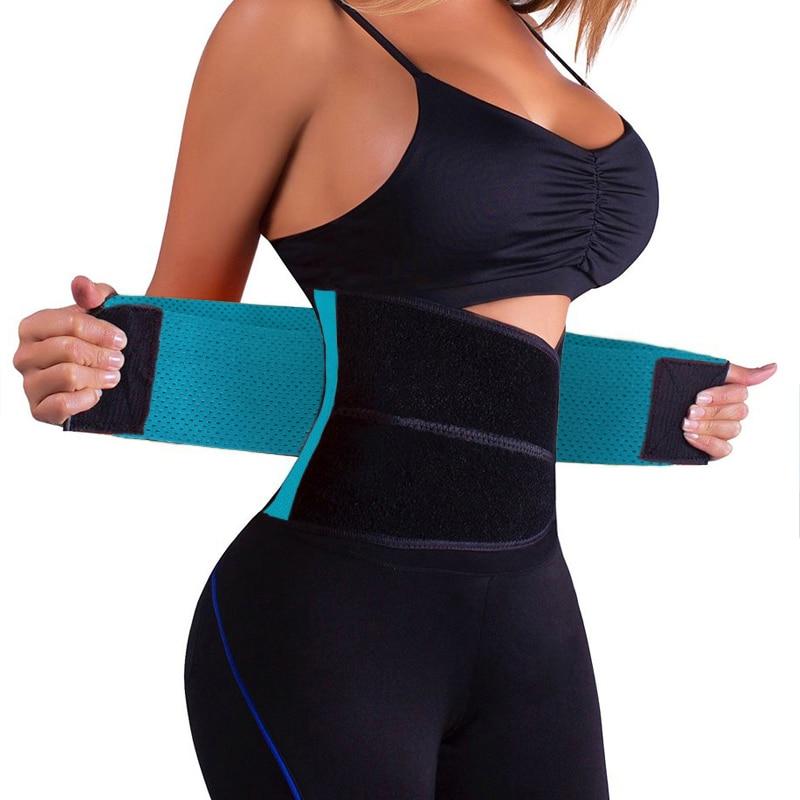 Hot Belt Orthopedische Back Brace Voor GYM Trainers Vrouwen Mannen Taille Ondersteuning Riem Corset S-XXL Oranje Zwart Y123