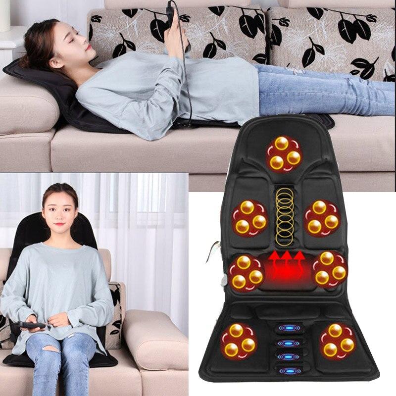 Car Accessories Shakti Mat Massage Car Body Vibration Massage Chair Cushion Neck Waist Body Multi-functional Car Multipurpose