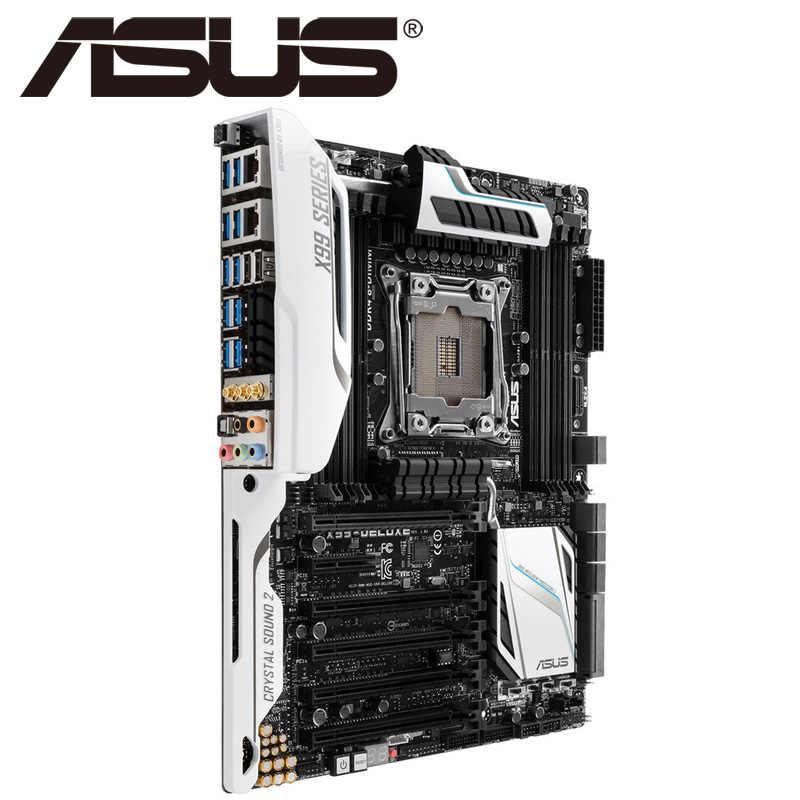 Asus X99-DELUXE/USB3 1 Desktop Motherboard X99 Socket LGA 2011-V3 i7 X DDR4  128G ATX UEFI BIOS Original Used Mainboard On Sale