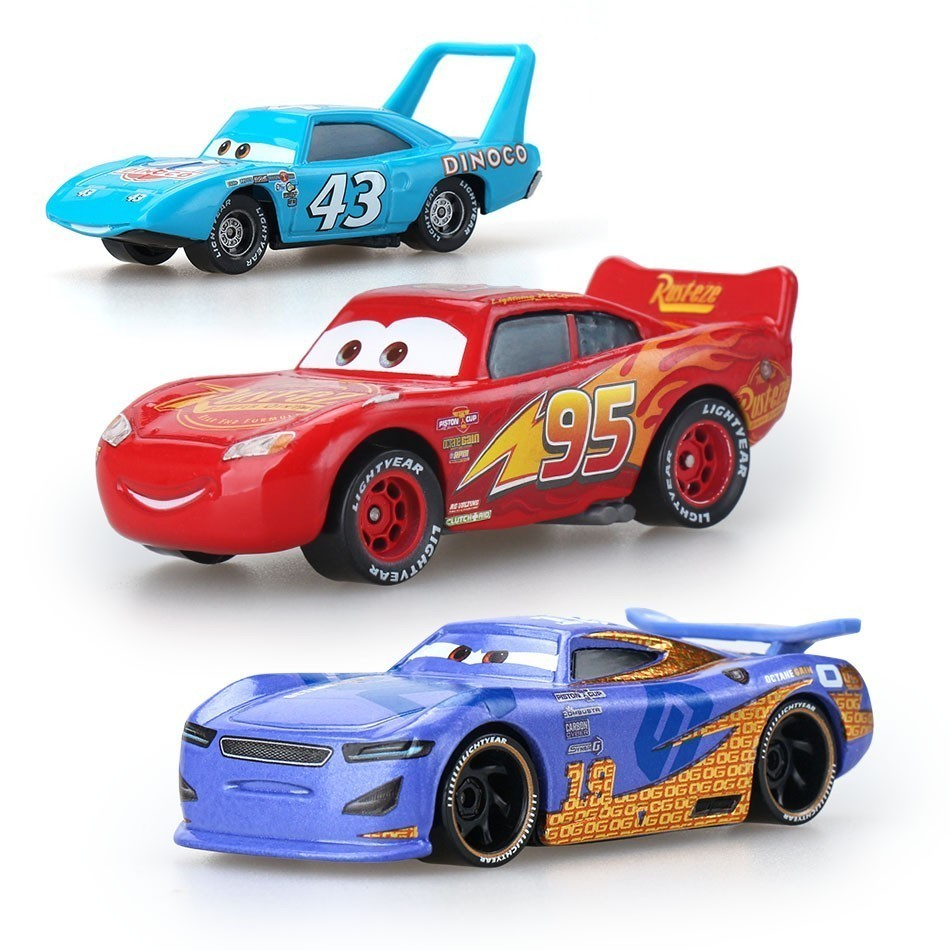 Disney Pixar Cars 3 Mcqueen Jackson Storm Mater Mack Truck Diecast Metal Boy Toy Car Educational Toys For Children