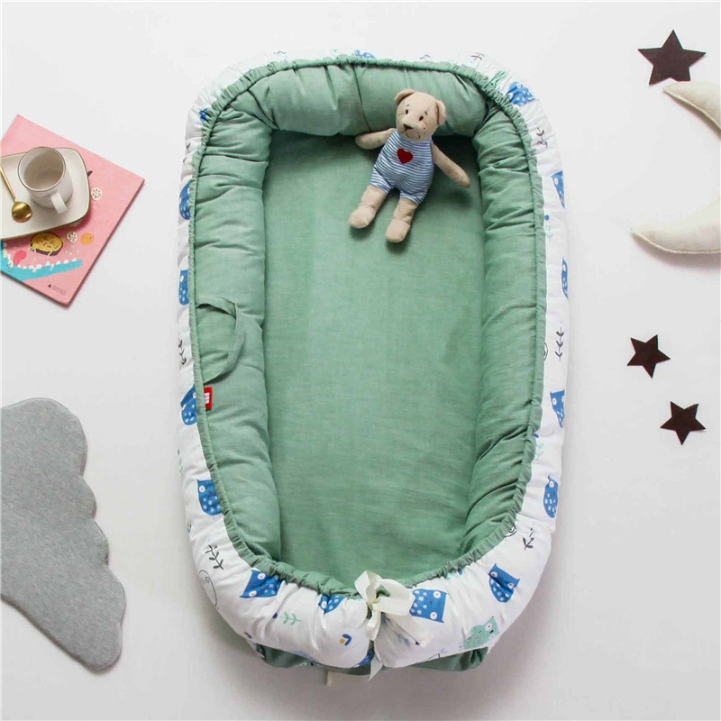 Fashion Mattresses New Baby Bassinet For Bed Portable Baby Lounger For Newborn Crib Breathable And Sleep Nest