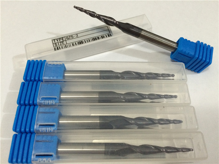 5pcs/lot 1.5*30mm(CED*CEL) 6mm Double-Edged Ball End Tungsten Steel engraving tools PCB Milling Cutter Bits  цены
