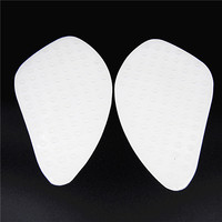 Motorcycle Transparent White Tank Traction Pad Side Gas Knee Grip Protector FORHonda CBR600 1000 RR CB400
