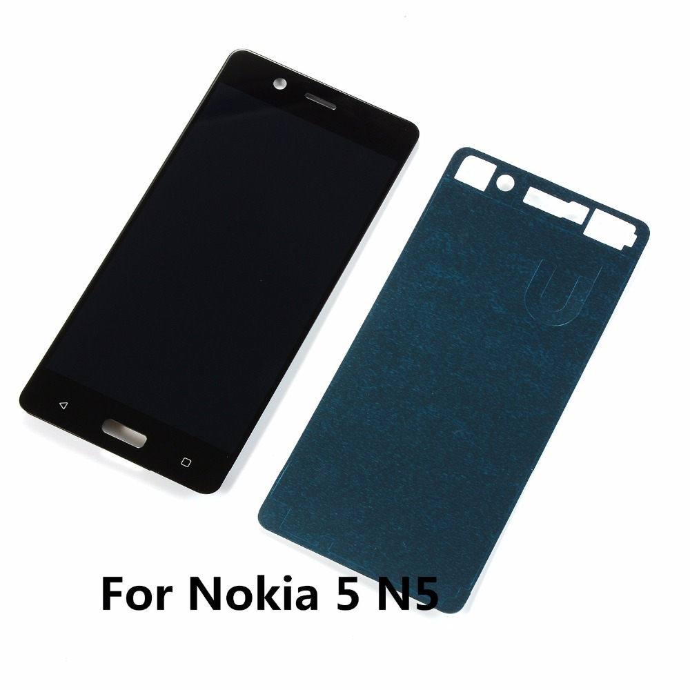 <font><b>5</b></font>.2 inch For <font><b>Nokia</b></font> <font><b>5</b></font> N5 TA-1008 TA-1030 TA-<font><b>1053</b></font> Lcd Display Touch Screen Digitizer Assembly+Glue Adhesive image