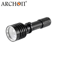ARCHON D10U L2 U2 3 Mode 1000 Lumen White Diving Zooming Flashlight Underwater Torch Waterproof LED Light