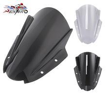 Windshield for Suzuki GSX250R GSX 250R Motorcycle Windscreen Flyscreen Airflow Wind deflector Mounting Bracket 2017 2018 2019