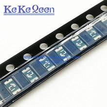 цена на 100PCS/LOT SMD1206P110 PPTC Resistor FUSE 8V 1.1A 1100mA 1206 SMD NEW Original