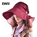 SunHat Summer Fashion Women 4 Color Travel Sun Hat Beach Hats Woman Style Anti Mosquito Sai Panama Cap Veil