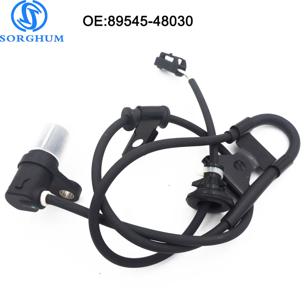 NEW 89545-48030 8954548030 Rear left ABS Wheel Speed Sensor For Toyota RX330 RX350 RX400h AWD JDM