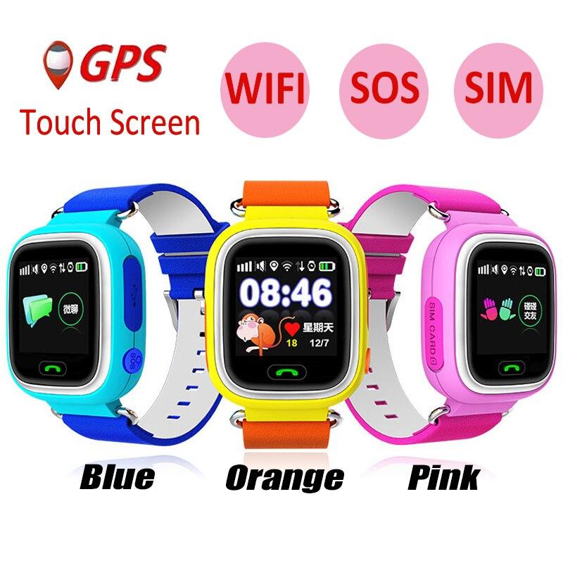 CHIGU Smartwatch Q90 écran tactile GPS WIFI positionnement enfants intelligent montre-bracelet localisateur PK Q50 Q60 Q80 pour enfant sûr Anti-perdu