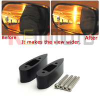 YZF R25 R3 Motorcycle Mirror Extenders Spacers For Yamaha YZF R3 YZF R25 2015 2016 Black