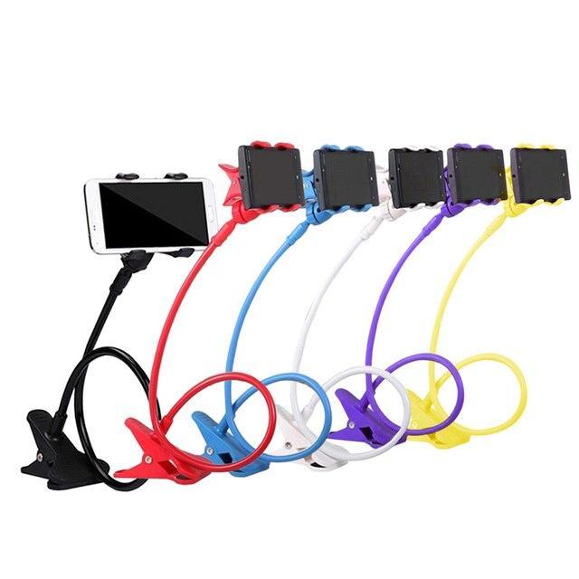 360 Degree Roating Flexible Phone Holder Stand For Mobile Long Arm Holder...