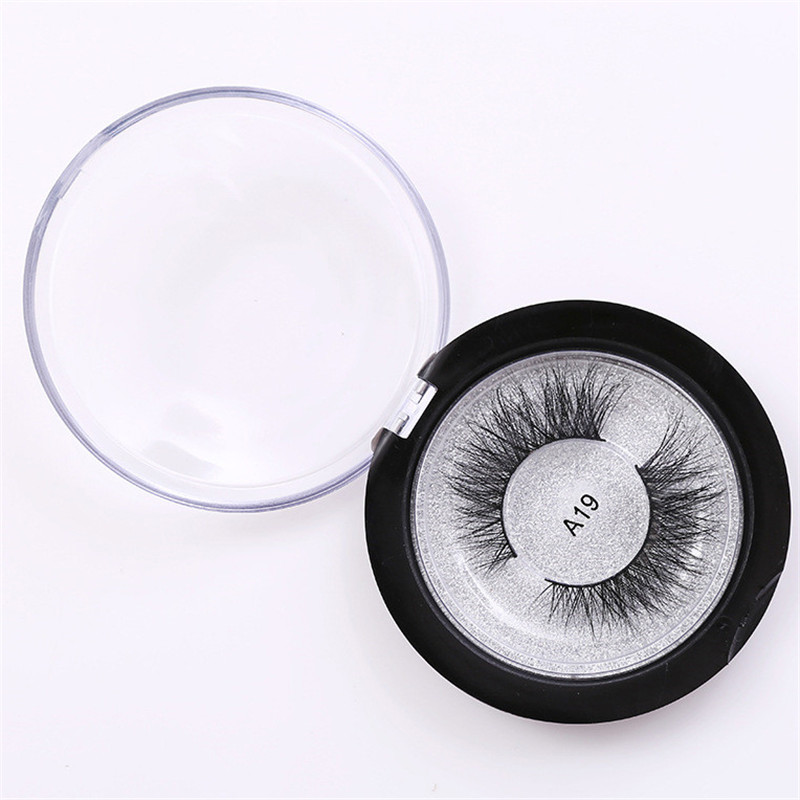 26e7a9a2807 Soft Design 3D 100% Real Mink False Eyelashes Cross Messy Eye Lashes 1 Pair  Chic