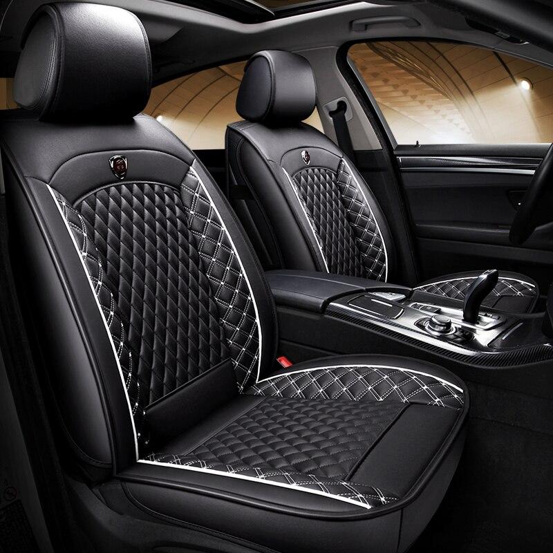 (Avant + arrière) housses de siège de voiture en cuir spécial pour Hyundai tucson 2008 2016 2017 veloster verna jac j3 j5 s2 s3 s5