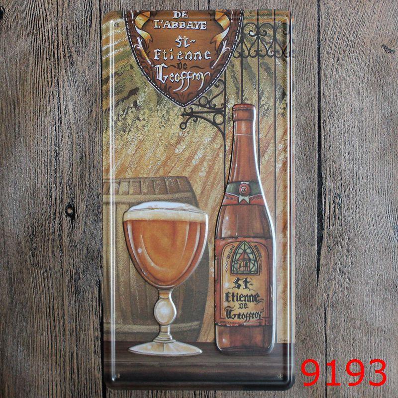 LOSICOE Vintage license plate Cocktails Metal signs home decor Office Restaurant Bar Metal Painting art 15x30 CM