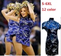silk sexy cheongsam plus size women chinese traditional formal chinese dresses oriental style dresses short qi pao vintage black