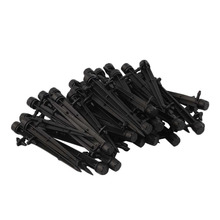 New 50 pcs Micro Bubbler Drip Irrigation Adjustable Emitters Stake Water Dripper for Garden