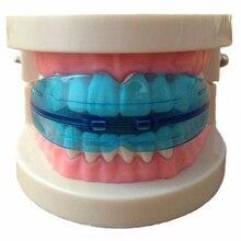 Прямо/выравнивание мундштуки ортодонтическое подтяжки выравнивания стоматологическая бытовой продаж тренер зубов топ