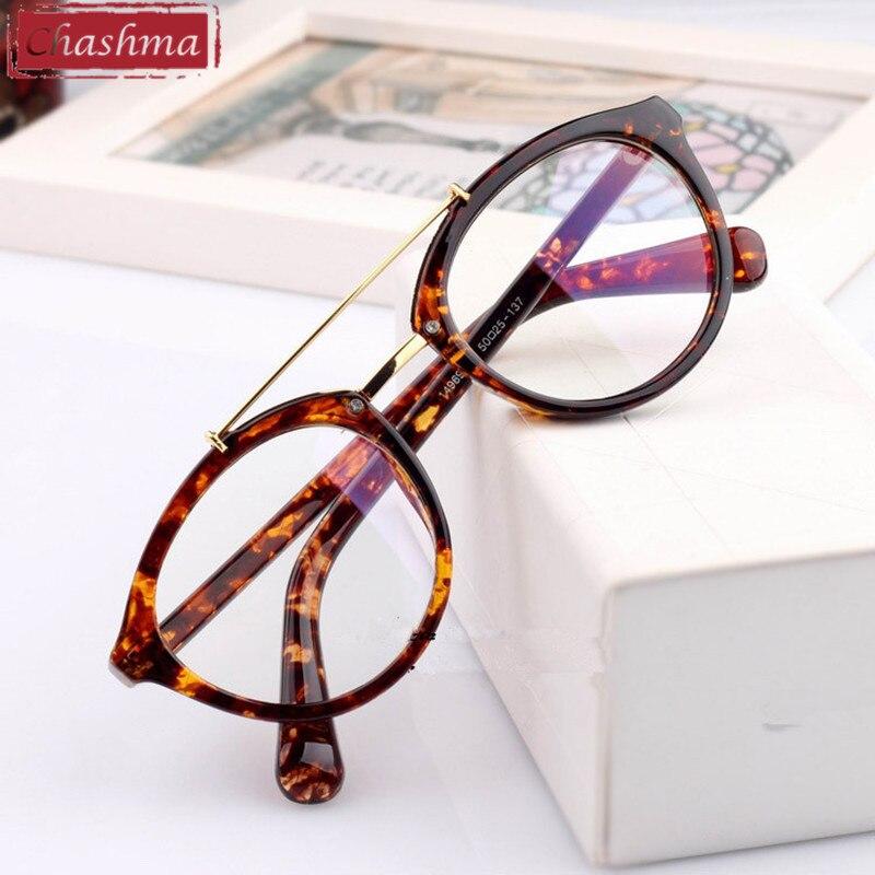aab05a51c70d Chashma Korea Star Eye Glasses Women Optical Glasses Frame Black Leopard  Brown Plain Mirror Eyewear Myopia Glasses Frame-in Eyewear Frames from  Women's ...