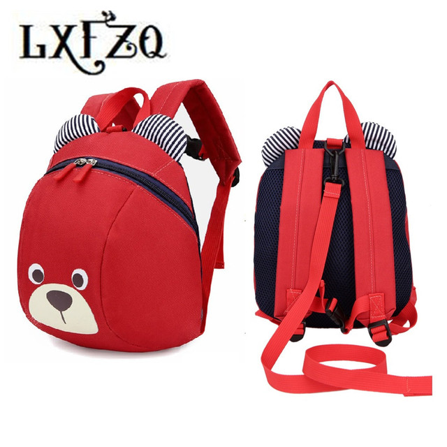 LXFZQ mochila infantil new children school bags Anti-lost children's backpack for children Baby bags Kids Bag Schoolbag Backpack