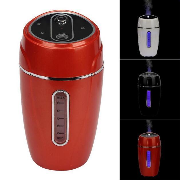 New Mini 12V Car Steam Humidifier Air Purifier Aroma Diffuser Essential oil diffuser Aromatherapy Mist Maker Fogger Black White