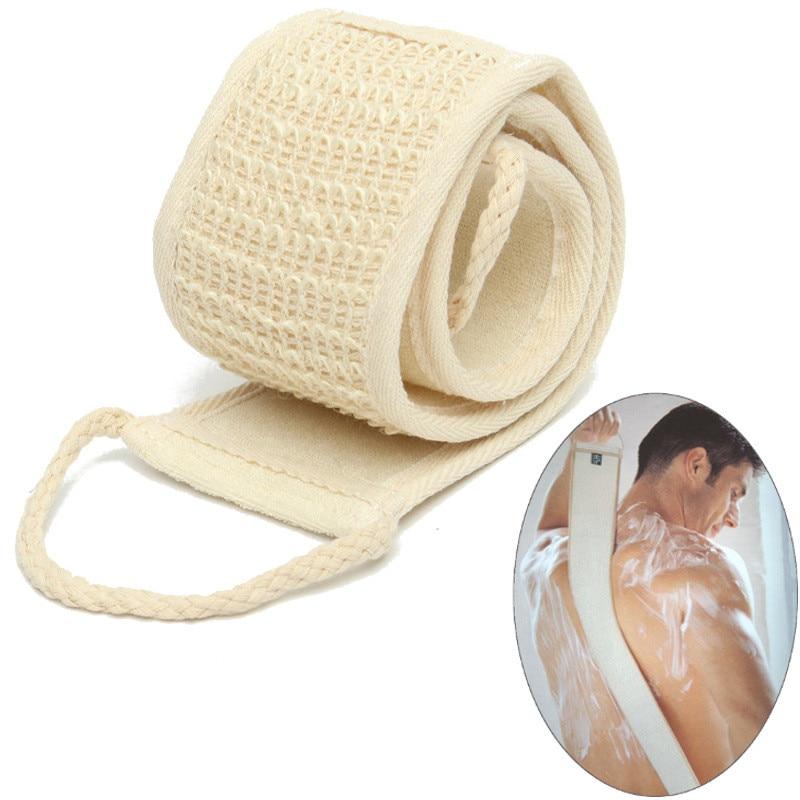 1pc Natural Soft Exfoliating Loofah Bath Shower Unisex Massage Spa Scrubber Spon